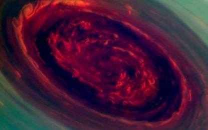 Stuhi mbresëlënëse në Saturn