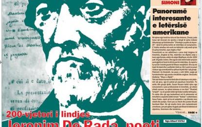 Në te gjitha pikat e shitjeve te gazetave del numri i ri i gazetes DRITA