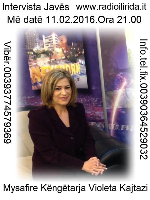 Intervista me Violeta Kajtazi