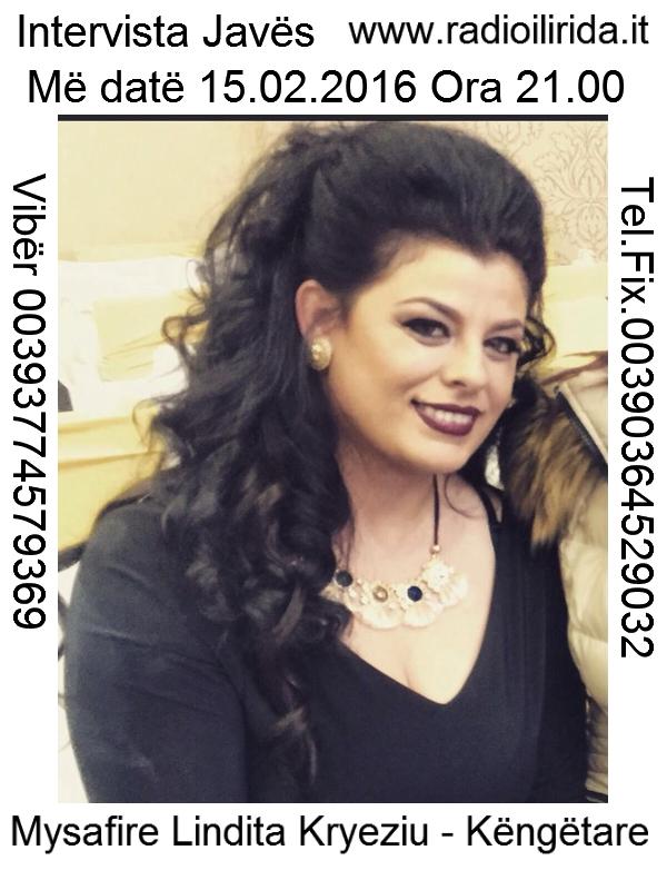 Lindita Kryeziu Intervista