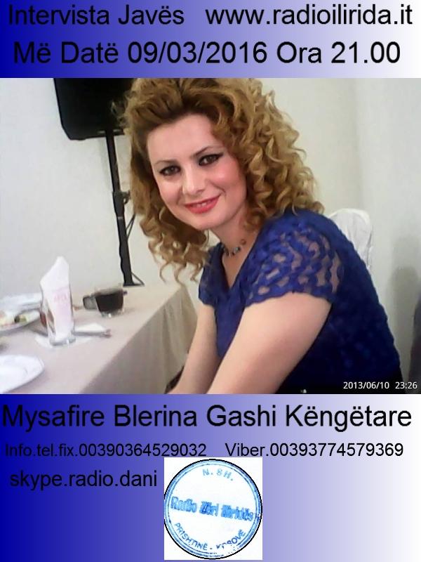 Intervista Blerina Gashi