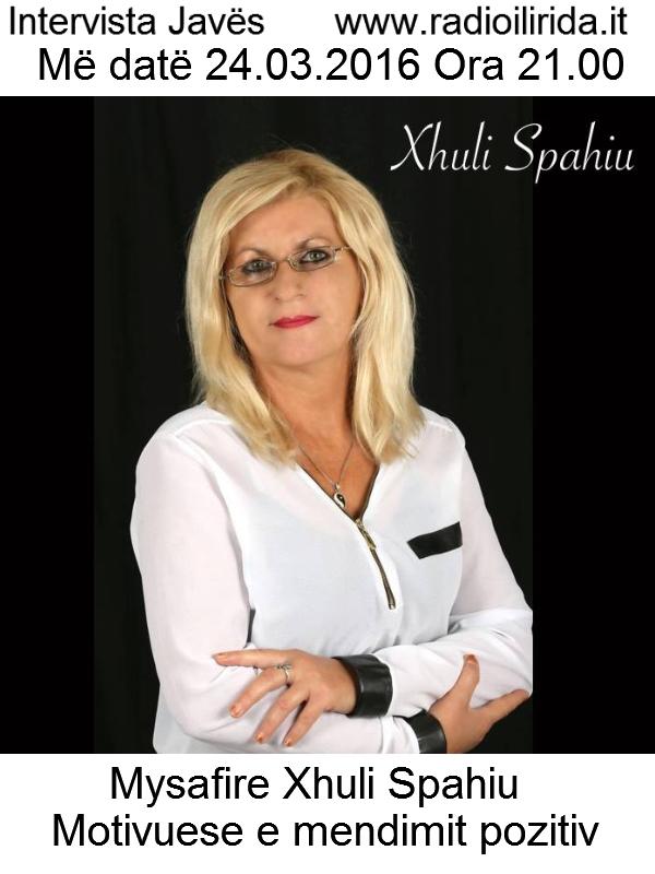 Intervista me Xhuli Spahiu
