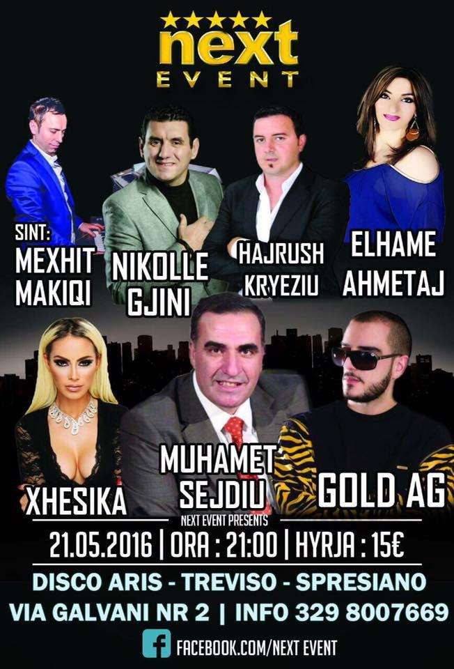 next event 21 05  2016