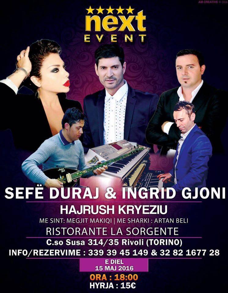 torino next event