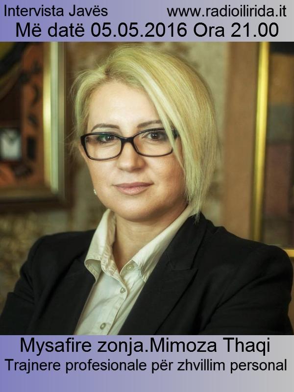 Intervista me Mimoza Thaqi