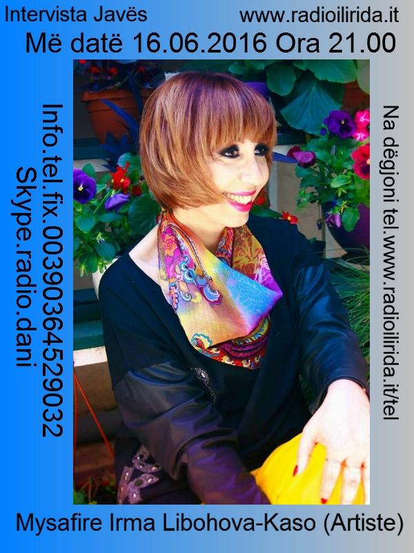 Intervista me Irma Libohova