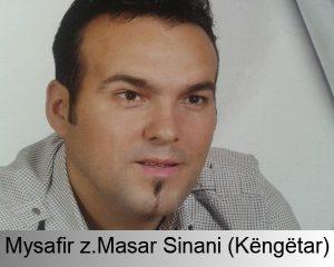 Ju informoj qe 28.04.2017 Ora 21.00 mysafir do te jet Masar Sinani (Këngëtar)