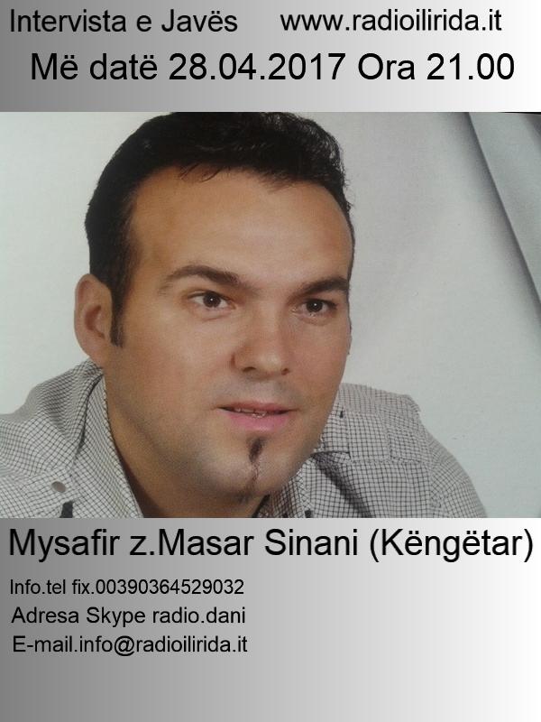 Intervista me Masar Sinani