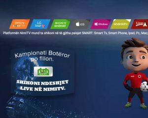 NIMITV IPTV platforma